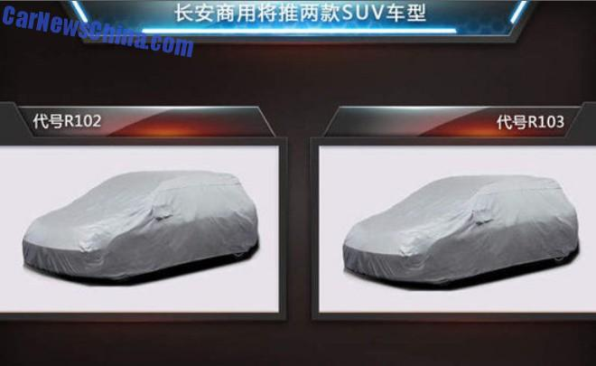 Changan Automobile develops two new SUV's for China