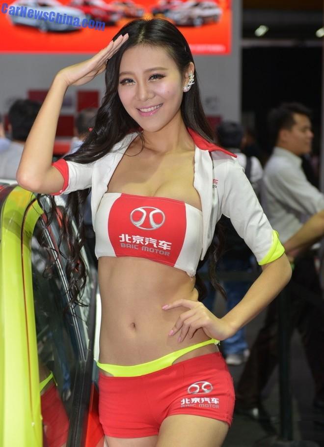 2014 Guangzhou Auto Show: the China Car Girls; first load