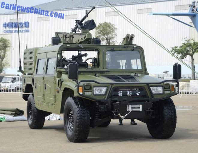 Zhuhai Airshow 2014: the CSK002 Airborne Assault Vehicle
