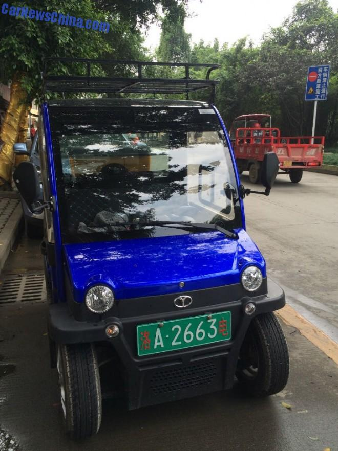 Spotted in China: the Dayang Chok electric mini-mini car