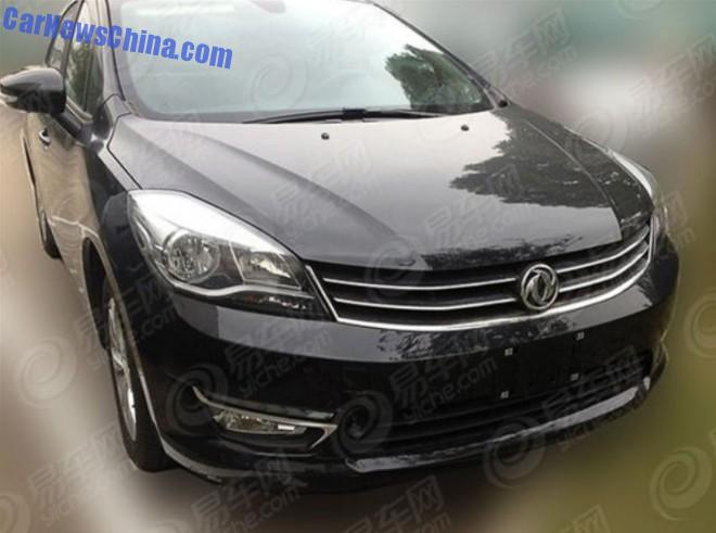 Spy Shots: Dongfeng Fengshen L60 is Naked in China