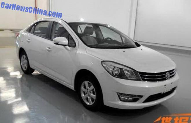 Spy Shots: Dongfeng Fengshen L60 is Almost Ready for China