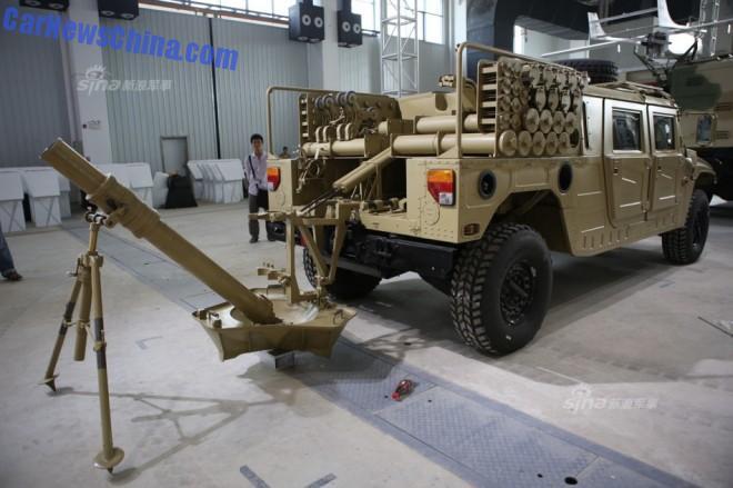 Zhuhai Airshow: Dongfeng EQ2050 gets a 120mm mortar