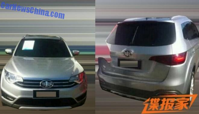 Spy Shots: new FAW Junpai SUV for China