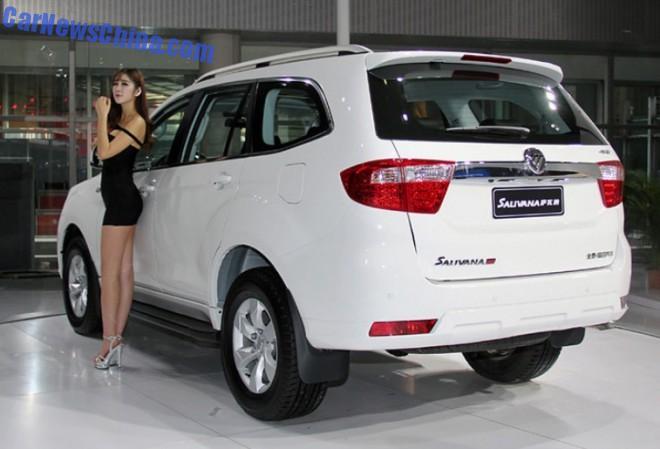 2014 Guangzhou Auto Show: Foton Salivana SUV debuts in China