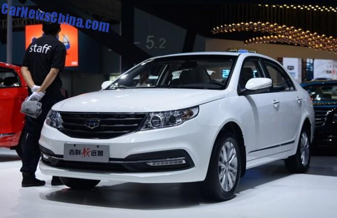 2014 Guangzhou Auto Show: Geely GC7 New Vision debuts in China