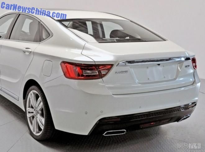 Leaked: official photos of the Geely Emgrand GC9 sedan for ...