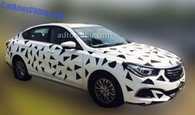 spy Shots: Guangzhou Auto Trumpchi GA6 sedan seen testing in China