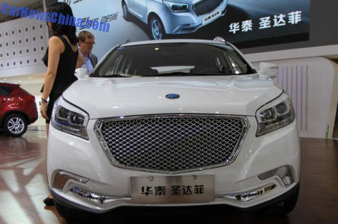 2014 Guangzhou Auto Show: Hawtai Shendafei launched on the Chinese car market