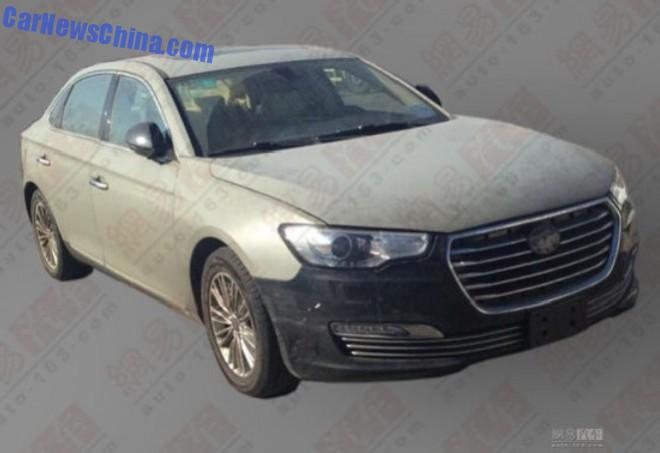 Spy Shots: JAC Refine A6 sedan testing in China