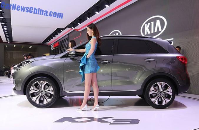 Guangzhou Auto Show Kia KX Concept Debuts In China - Kia car show