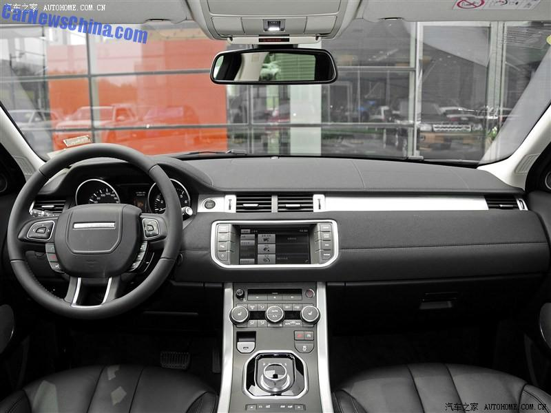 this is the cloned interior of the landwind x7 range rover evoque clone from china. Black Bedroom Furniture Sets. Home Design Ideas