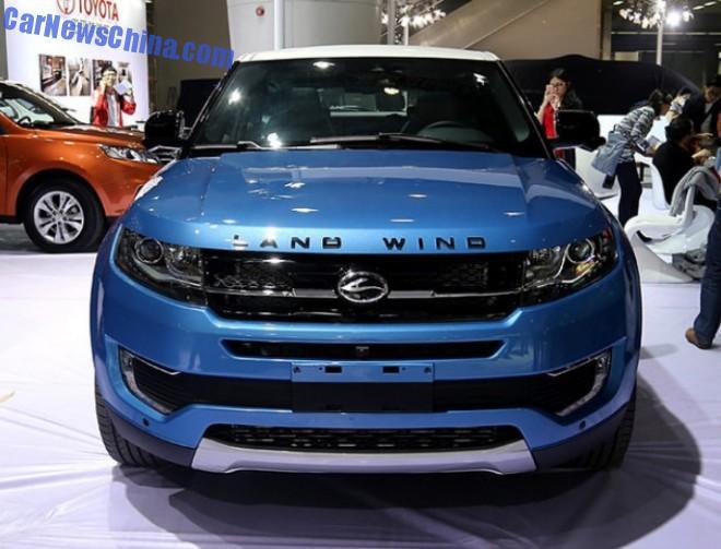 2014 Guangzhou Auto Show: Landwind X7 unveiled in China