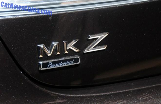 2014 Guangzhou Auto Show: Lincoln MKZ & MKC Presidential Series debut in China