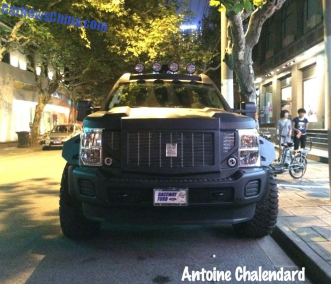 Spotted in China: the U.S Specialty Vehicles G.Patton SUV