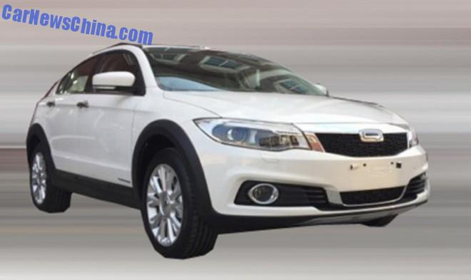 Spy Shots: Qoros 3 Urban SUV for the China car market