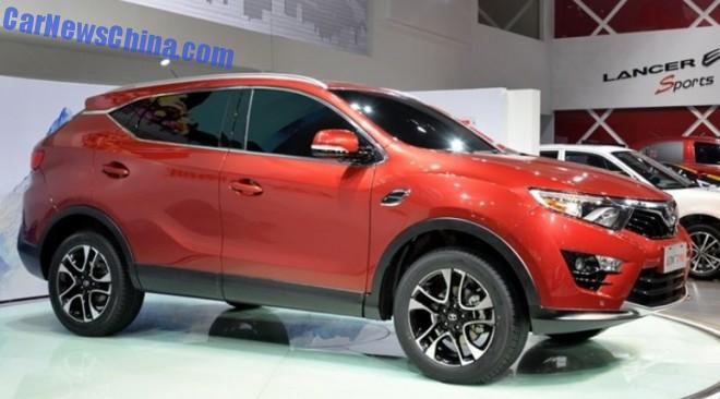 SouEast DX7 SUV will be launched in China in 2015
