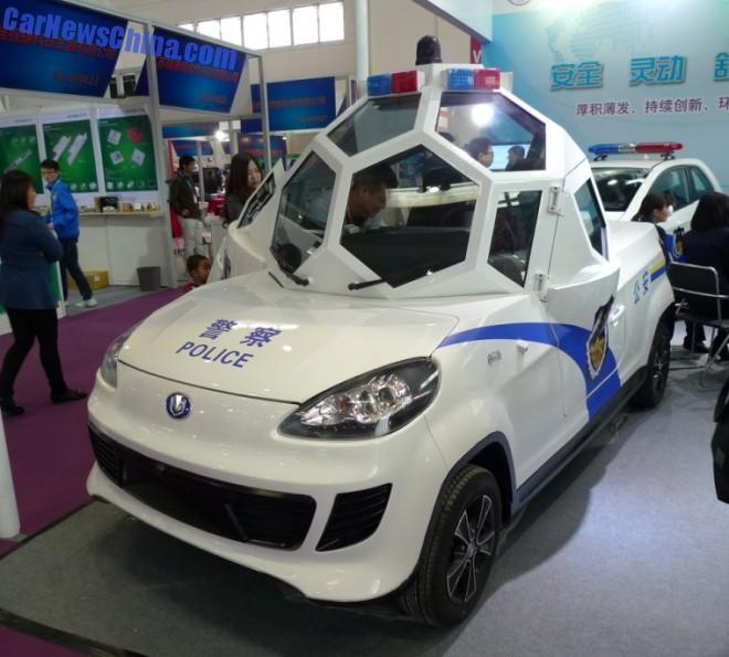 Introducing the Zijing Qingyuan Armored Sperical Cabin Electric Patrol Vehicle