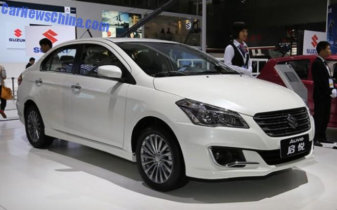 2014 Guangzhou Auto Show: Suzuki Alivio sedan unveiled in China