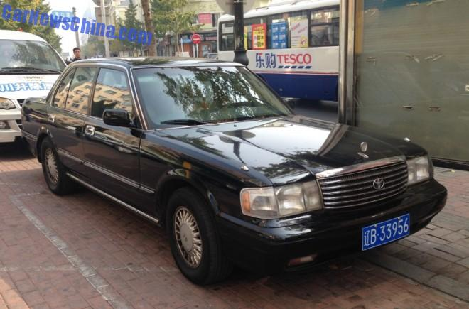 Spotted in China: Toyota Crown Super Saloon 3.0 Twin Cam 24