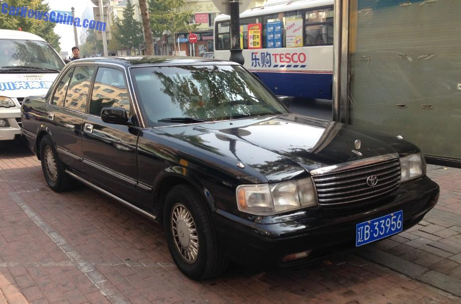 Spotted In China Toyota Crown Super Saloon 3 0 Twin Cam