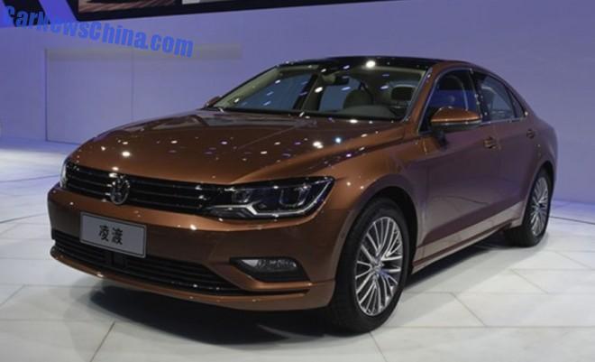 2014 Guangzhou Auto Show: Volkswagen Lamando unveiled in China