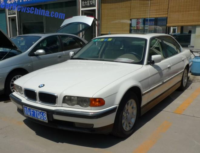 Spotted in China: E38 BMW 728iL