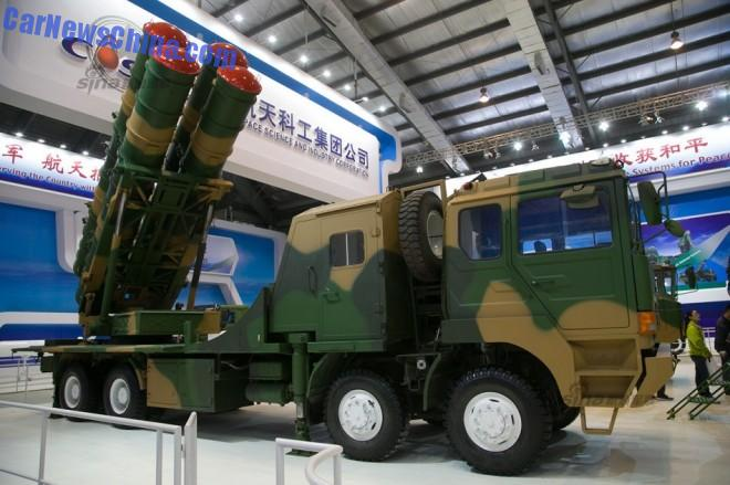 Zhuhai Airshow 2014: FK-3 Surface-to-Air Missile defense system