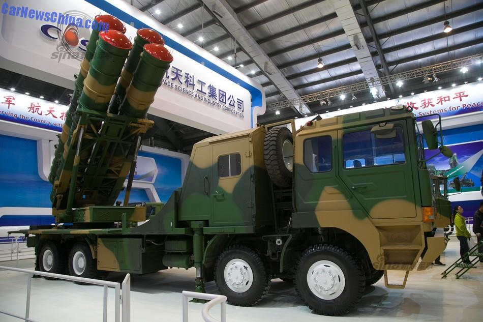 Zhuhai Airshow 2014: FK-3 Surface-to-Air Missile defense system ...