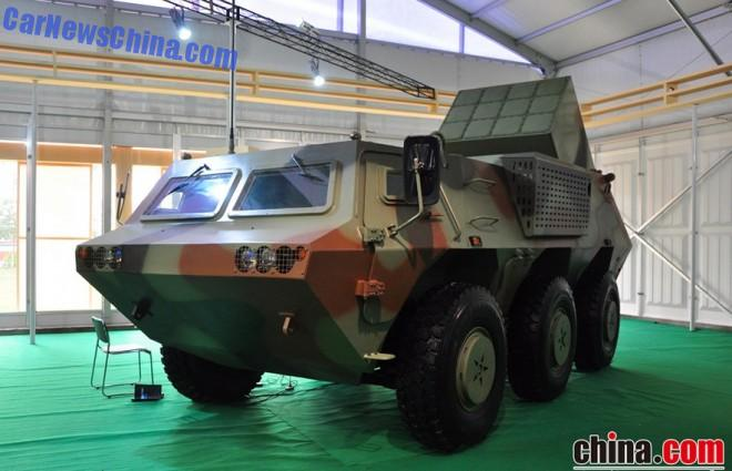 Zhuhai Airshow 2014: PA01 6x6 Tactical Missile System