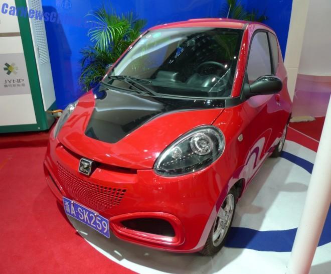 Eye to Eye with the Zotye E20 EV in China