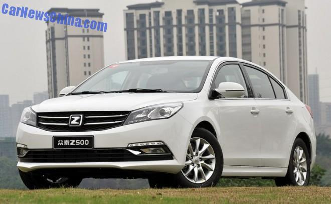 Zotye Z500 launched on the China car market