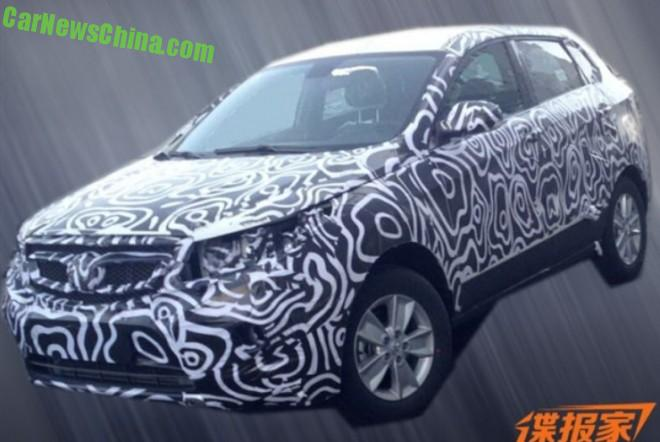 Spy Shots: Beijing Auto Senova X55 testing in China