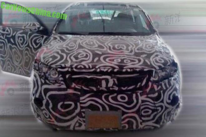 Spy Shots: Beijing Auto Senova X55 SUV for China