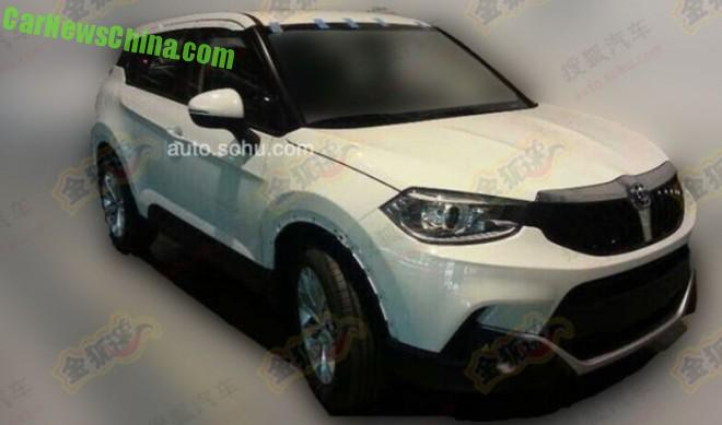 Spy Shots: Brilliance V3 SUV is getting Ready for the Chinese car market