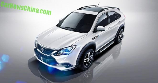 Officially Official: this is the BYD Tang hybrid SUV for China