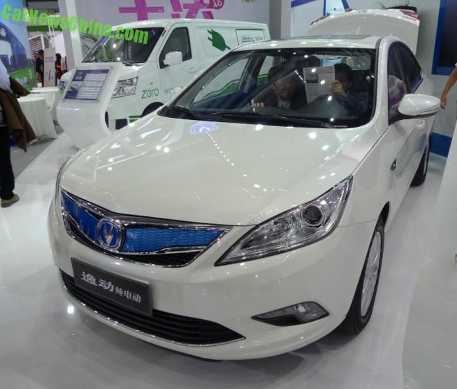 Changan Eado EV will launch in China in January 2015