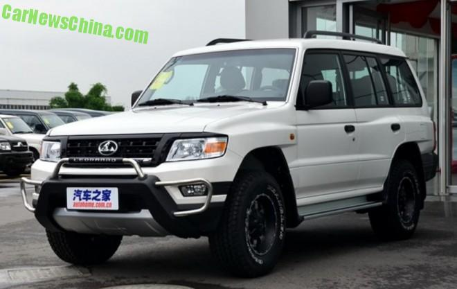 Changfeng Liebao Q6 launched on the Chinese auto market