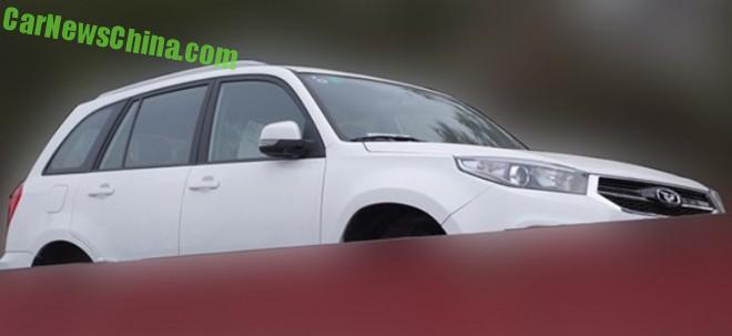 Spy Shots: Cowin Auto CX3 SUV is a Chery Tiggo 3 in China