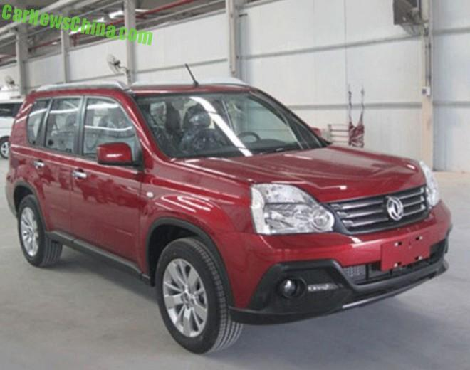Spy Shots: Dongfeng MX6 is an old Nissan X-Trail
