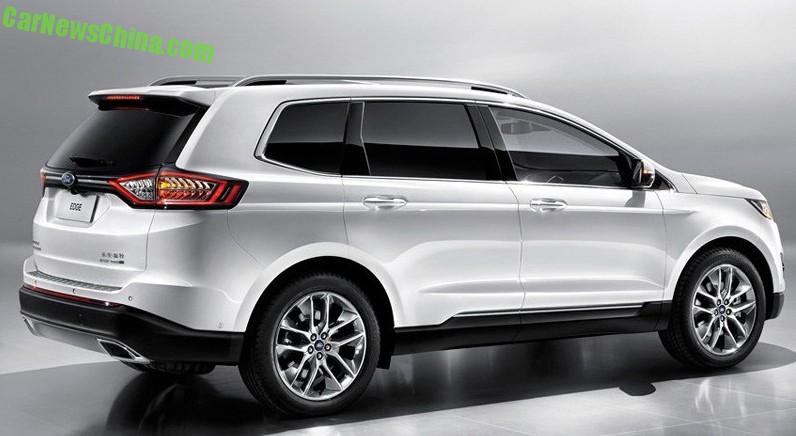 officially official this is the china made ford edge suv. Black Bedroom Furniture Sets. Home Design Ideas