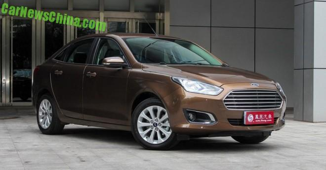 Ford announces pricing for the new Escort in China