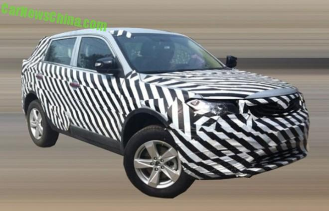 Spy Shots: Geely Emgrand NL-3 SUV testing in China