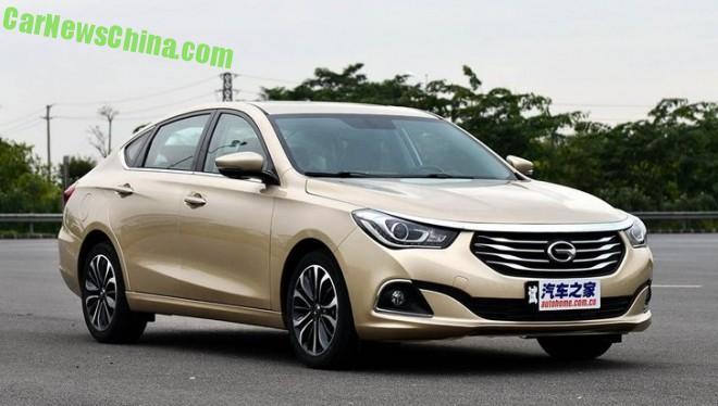 Guangzhou Auto Trumpchi GA6 hits the Chinese auto market