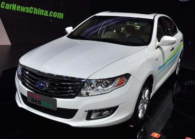 Guangzhou Auto Trumpchi GA5 REV launched on the Chinese auto market