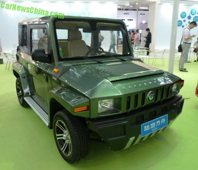 Eye to Eye with the Greenwheel Jummer EV in China