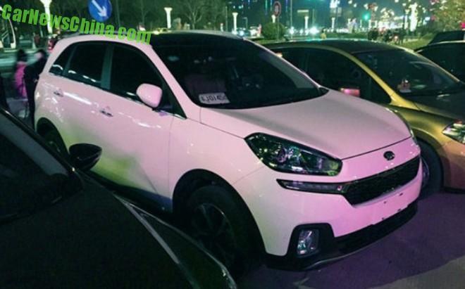 Spy Shots: Kia KX3 SUV is Naked in China
