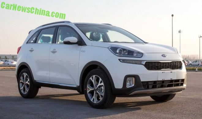 Kia KX3 SUV is Naked from all Sides in China