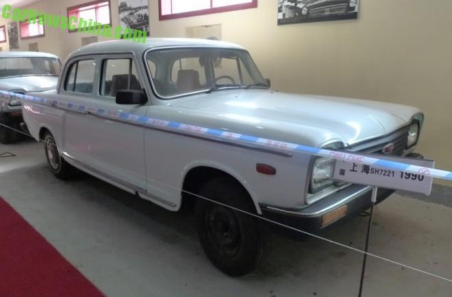 The Shanghai SH7221 at the Dalian Classic Car Museum in China