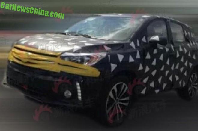 Spy Shots: Guangzhou Auto Trumpchi GS3 SUV seen testing in China